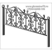 Ритуальная оградка РО-23