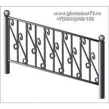 Ритуальная оградка РО-28