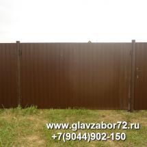 Ворота из профнастила поселок Якуши