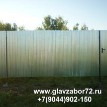 Ворота из профнастила пос Дербыши(1)
