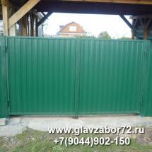 Ворота из профнастила Казарова(Тюмень)