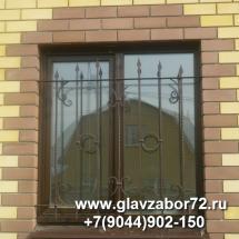 Кованые решетки на окна Березняки 2 (Тюмень)