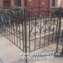 Оградка кованая(Тобольск)