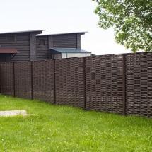 Забор плетеный ЛОЗА из полимерного композита