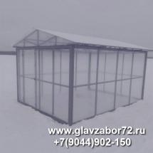 Домик для зимнего купания над прорубью, Тюмень