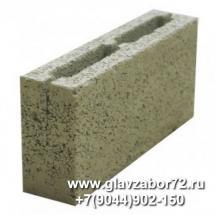 Керамзитоблок перегородочный М-35 (390х120х188)