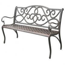 Кованая скамейка КС-4