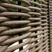 Заборы плетеные(ДПК)