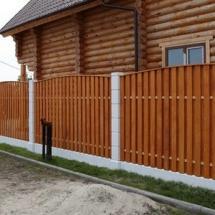 Забор деревянный (секционный)